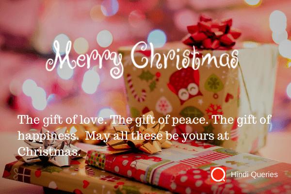 christmas greeting Hindi Queries