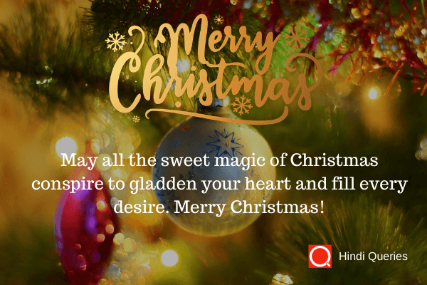greeting for the christmas Hindi Queries