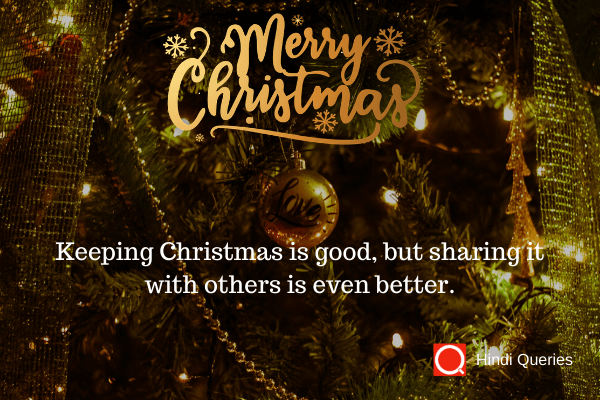 quotation for christmas wishes Hindi Queries
