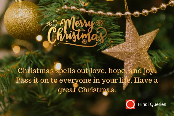 greetings Christmas hindi queries