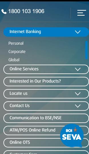 bank of india net banking boi net banking