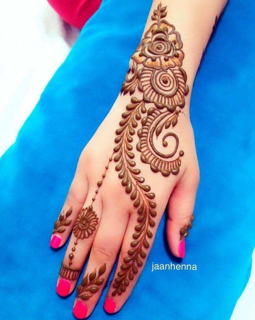 Design Mehndi Hand Photo