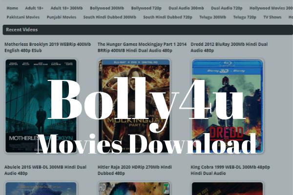 Bolly4u Bollywood Hindi Movies Download