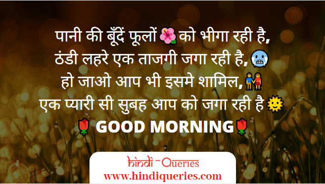 Good Morning Shayari, morning shayari