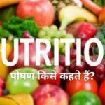 Poshan Kise Kahate Hain | पोषण किसे कहते हैं? जानें पूरी जानकारी