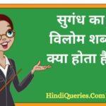 सुगंध का विलोम शब्द क्या होता है?   Sugandh Ka Vilom Shabd in Hindi