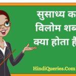 सुसाध्य का विलोम शब्द क्या होता है? | Susadhya Ka Vilom Shabd in Hindi